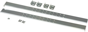 Kendall Howard 1U 2 Post Rack Mounting Kit 1950-3-001-01