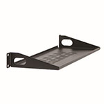 "Kendall Howard 1U 6"" Vented Light Duty Rack Shelf - LDRS1U6V ET10368"