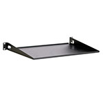 "Kendall Howard 1U 12"" Light Duty Rack Shelf - LDRS1U12 ET10369"