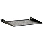 "Kendall Howard 1U 12"" Vented Light Duty Rack Shelf - LDRS1U12V ET10370"