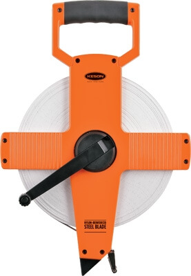 Keson NR Series 200' Steel Blade Measuring Tape