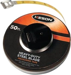 Keson ST Series 50' Steel Blade Measuring Tape