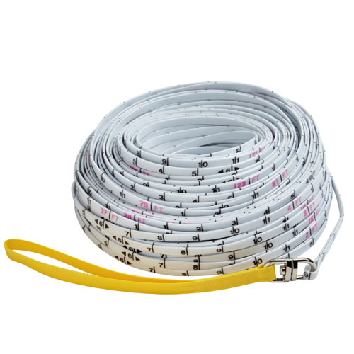 Keson 100 ft Surveyor's Measuring Rope - Inches - SR18100