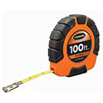 Keson ST3X Series 100' Steel Blade Measuring Tape with Speed Rewind (2 Models Available) ES2332
