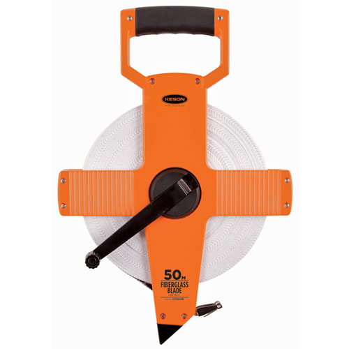 Keson OTR Series 50 Meter Two-Sided Fiberglass Blade Measuring Tape - OTR50MM