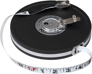 Keson MC Series 50' Fiberglass Blade Measuring Tape