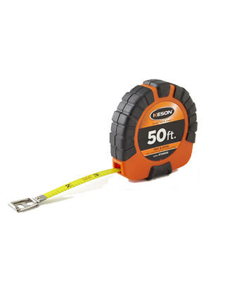 KESON ST18M1003X Tape Measure, 3/8 In x 100 ft/30m, Orange ES6178