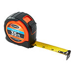 Keson 35 ft Wide Blade Short Tape - Feet, Inches, 18ths, 16ths - PG1835WIDEV ES7477