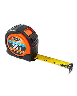 Keson PG1835WIDEV - 35ft High Visibility Wide Blade Measuring Tape es7477