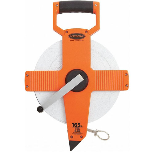 Keson NR Series 165' Steel Blade Measuring Tape (3 Models Available)