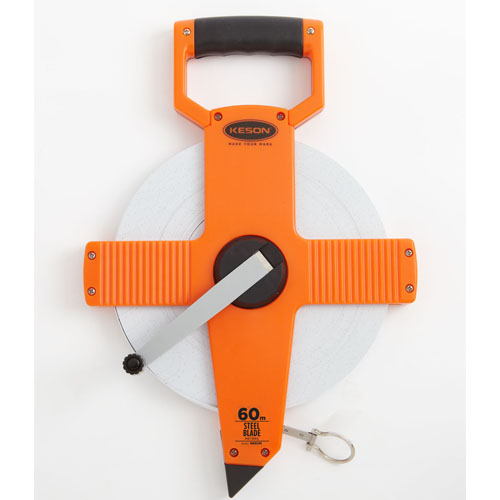 Keson NR Series 60 Meter Steel Blade Measuring Tape (3 Models Available)