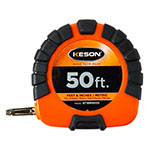 Keson ST3X Series 50'/15m Steel Blade Measuring Tape with Speed Rewind - ST18M503X ET10215