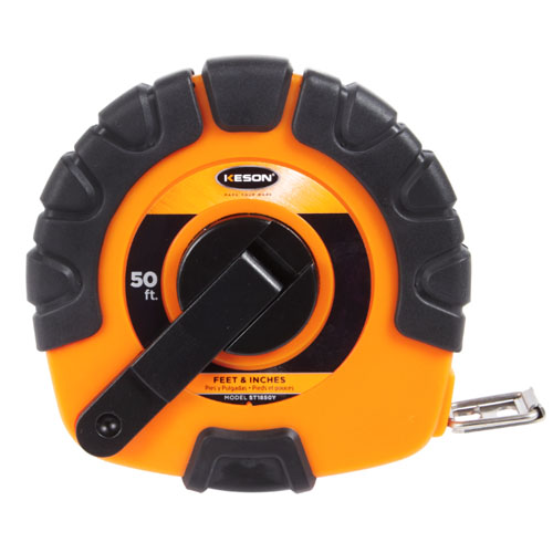 Keson STY Series 50' Blade Measuring Tape with Speed Rewind - ST1850Y