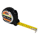 Keson 25 ft/7.6m Autolock Short Tape - Feet, Inches, 8ths, 16ths, and Metric - PG18M25AL ET10293