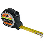 Keson 25 ft/7.6m Autolock Short Tape - Feet, Inches, 10ths, 100ths, and Metric - PG10M25AL ET10294
