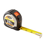 Keson 25 ft Professional Short Tape - Stainless Steel - Feet, Inches, 8ths, 16ths - PGPRO1825 ET10297