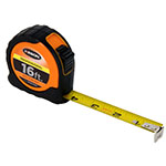 Keson 16 ft Professional Short Tape - Orange - Feet, Inches, 8ths, 16ths - PGPRO1816V ET10300