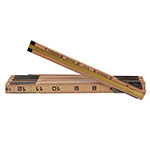 Keson Wood Ruler with Brass Extender - WR1818X ET10309