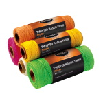 Keson 1090 ft Twisted Mason Twine - Case of 12 - (5 Colors Available) ET10931