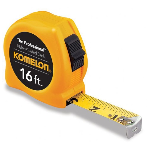 Komelon 416-4916 - 16 FT The Professional Series Power Tape