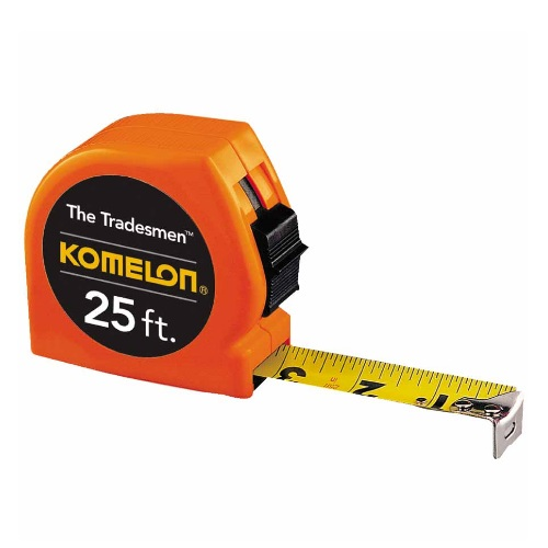 Komelon 416-T3725 - 25 FT Tradesmen Measuring Tape