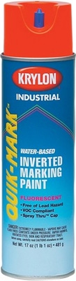 Krylon Quik-Mark Water-Based Inverted Marking Paint