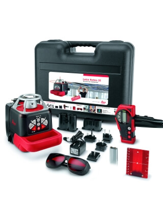 Leica Roteo 35 Rotary Laser Level Package 765752 ES2641