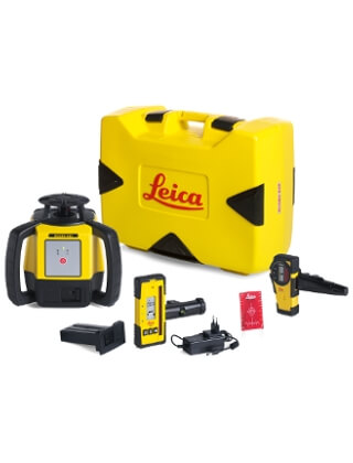 Leica Rugby 610 Series Rotary Laser Package (3 Packages Available) ES5189