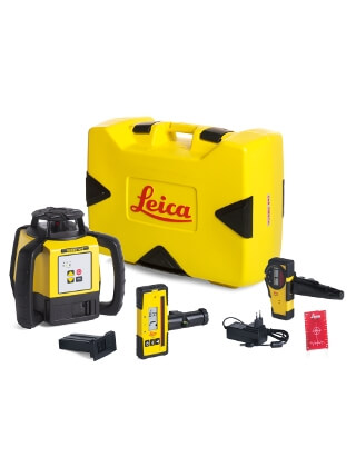 Leica Rugby 620 Series Rotary Laser Package (4 Packages Available)