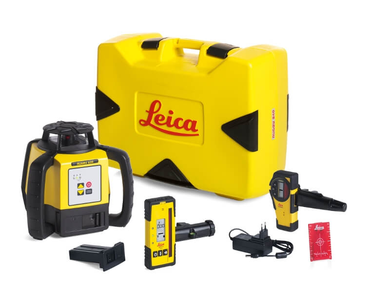 Leica Rugby 620 Rotary Laser Kit ES5190