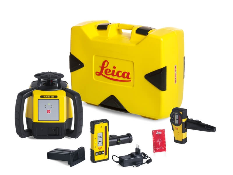 Leica Rugby 640 Series Rotary Laser Kit ES5191