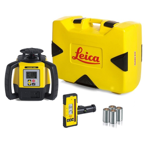 Best Rotary Laser Level For Contractors: Leica Rugby 680