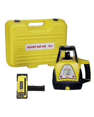 Leica 6003530 - Rugby 420DG Heavy-Duty Dual Grade Laser with Temperature Stabilization ES7571