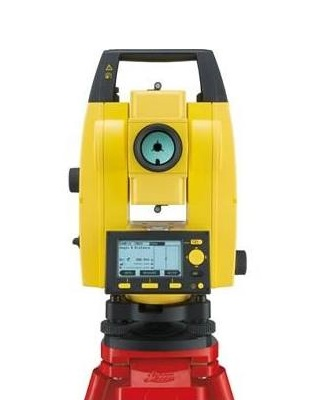 Leica 772729 - Builder 200 Series 9 Second Reflectorless Total Station ES7589