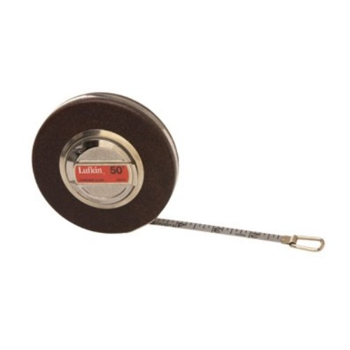 "Lufkin 182-C213CN - 50 FT Anchor Measuring Tape - 1/16"" Grad"
