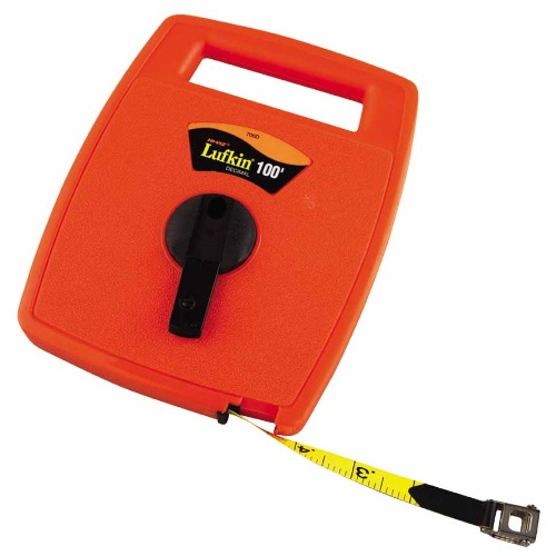 Lufkin 182-706D - 100 FT Hi-Viz Linear Measuring Tape