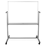 "Luxor 48"" x 36"" Double-Sided Magnetic Whiteboard - MB4836WW ES4538"