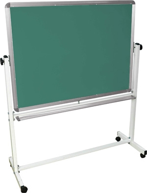 "Luxor Double Sided Magnetic White Board 48"" x 36"" ES4538"