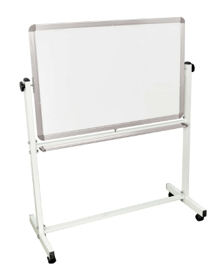 "Luxor Double Sided Magnetic White Board 36"" x 24"" ES4539"