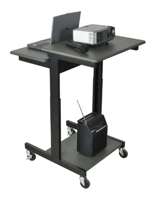 Luxor Mobile Adj Height Presentations Workstation PS3945 ES4576