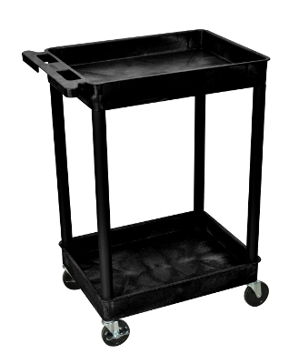 Luxor Tub Cart 2 shelves STC11 (12 Colors Available)