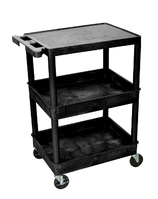 Luxor Flat Top and Tub Middle/Bottom Shelf Cart STC211 ES4595