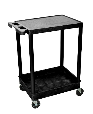Luxor Flat Top and Tub Bottom Shelf Cart STC21 ES4597