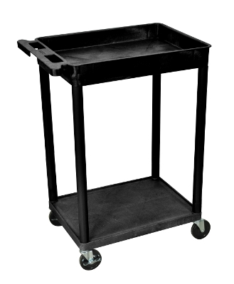 Luxor Top Tub and Bottom Flat Shelf Cart STC12 ES4603