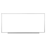 "Luxor 96""W x 40""H Wall-Mounted Magnetic Whiteboard - WB9640W ES4739"