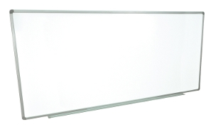 "Luxor Wall Mounted Super Large Whiteboard (96"" x 40"") WB9640W ES4739"
