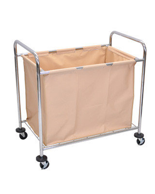 Luxor Laundry Cart With Steel Frame and Canvas - HL14