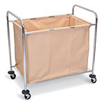 Luxor Laundry Cart - Steel Frame and Canvas Bag - HL14 ES5988