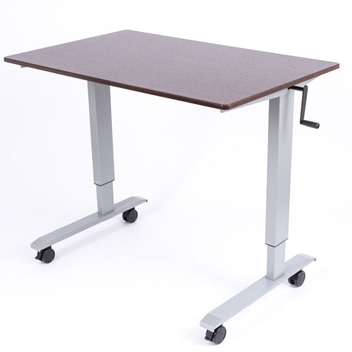 "Luxor 48"" High Speed Crank Adjustable Stand Up Desk - STANDUP-CF48-DW"