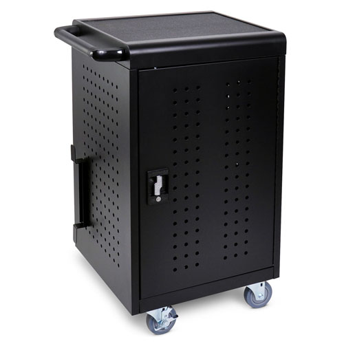 Luxor LLTM30-B - Tablet/Chromebook Computer Charging Cart ES7451